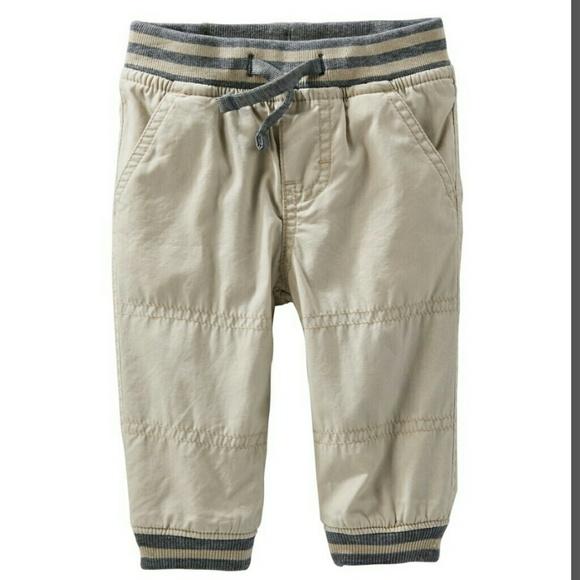 ac75e78f7 OshKosh B'gosh Bottoms | Oshkosh Baby Boy Fleece Lined Pants | Poshmark